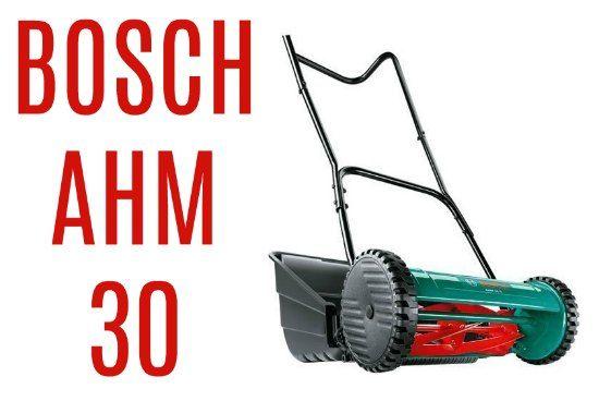 Cortac sped manual bosch ahm 30 precios y opiniones - Cortacesped automatico precio ...